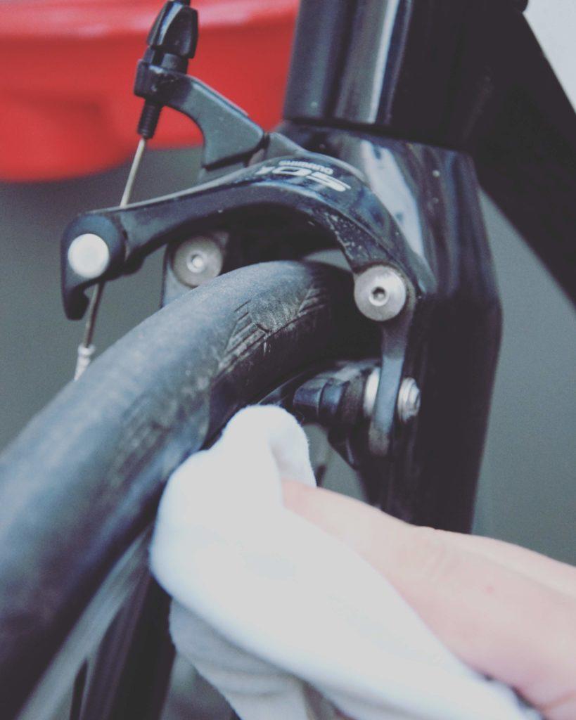 Rennradfelge reinigen rennradliebe